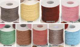 Single color flax string 100m/roll 0501270