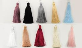 10.6CM fat tassel with connect color string 1pcs/opp 20pcs/opp bag 0511045