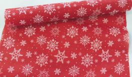 CHRISTMAS RED SNOW 49cm 5Y 0531021