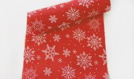 CHRISTMAS RED SNOW 24cm 5Y 0531022