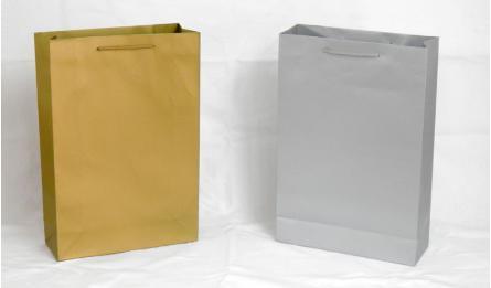 BAG GOLD-SILVER 25x37cm Νο.2 0402059