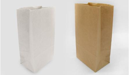 18*9*5cm natural brown paper bag without handle 0402072