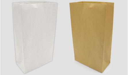 27*15*9cm natural brown paper bag without handle 0402075