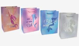 18*23*10cm mermaid paper bag 0402097