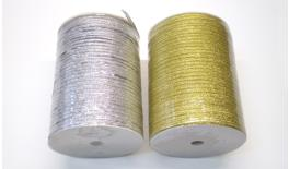 Ribbon gold and silver 0.3cm 880Y 0501030