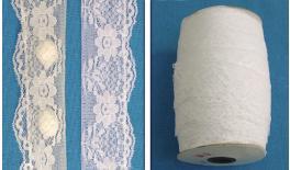 Ribbon lace double no845 4.5cm 50Y 0501055