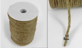 BURLAP ROPE MIDDLE 5mm 50m 0501119