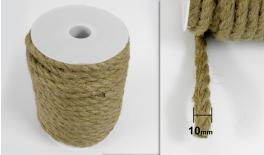 BURLAP ROPE MIDDLE 10mm 20m 0501120