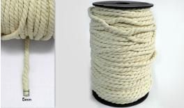 0.5cm double-ply cotton string 50m/roll 0501218