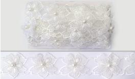 FLOWER LACE DOUBLE 50mm 10Y 0501222