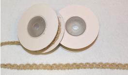 BURLAP RIBBON 1.1cm 5Y 0501248