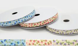 1cm little flower double face ribbon 20Y 0501269