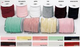 0.6cm velvet ribbon 50Yard/roll 0501294