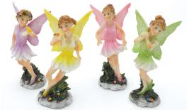 CERAMIC FAIRY MULTICOLORED 5x10cm 0503048