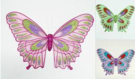 COLORFUL BUTTERFLY 40x27cm WITH MAGNETIC 0503075