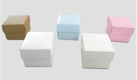 CARDBOARD BOX CUBE 6.5x6.5cm 0506107
