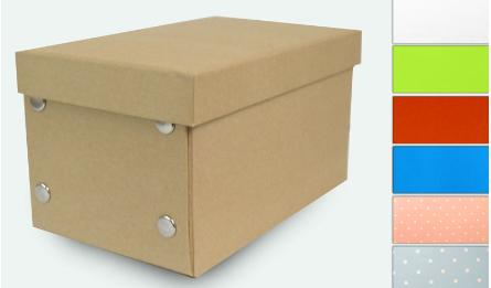 CARDBOARD BOX SECTIONAL MAT LAMINATION 26x16x13.5cm 0506141