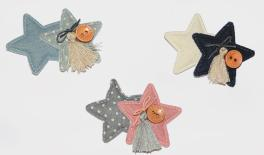 2star + star + button 20PCS/bag 0511040