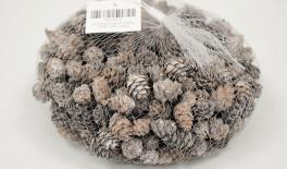 QF18A297 White small pinecone 0.4kg 0513012