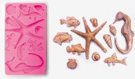 ΚΑΛΟΥΠΙ ΣΙΛΙΚΟΝΗΣ ΘΑΛΑΣΣΙΝΑ 19.5cm x 11.3cm F8410 0515144