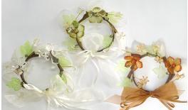 Wedding wreath crystal 5 racquets 12cm 0517327