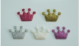 FABRIC CROWN ROUGHmETAL COLOR 4.2x3cm 0517341