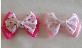 BOW DOUBLE POIS BIG 6x4cm 0517349