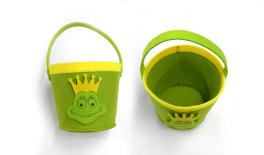 SMALL BASKETS WITH FROG 10/15x13cm 0517441