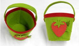 LARGE BASKETS WITH STRAWBERRY 18x16cm 0517442