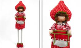 BIG STRAWBERRY GIRL UPRIGHT 110cm 0517471