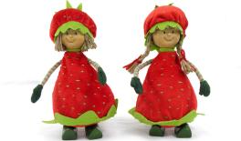 STRAWBERRY DOLL 10.5x24cm 0517478