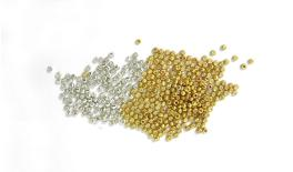 COOTIE BEADGOLD SILVER METAL 2mm 30.000pcs 0517627