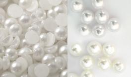 HALF BEAD PEARL 8MM 3800pcs 0517814