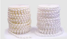 GARLAND HALF PEARL 8MM 25M 0517817