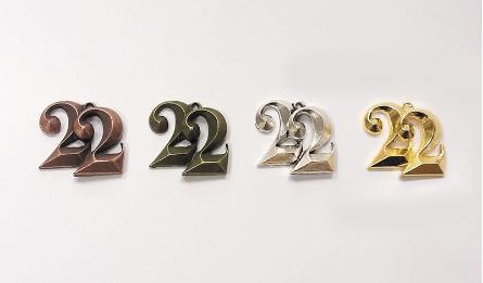 ΜΕΤΑΛΛΙΚΟ 3D 22 2.5cm 0517936