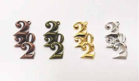 ΜΕΤΑΛΛΙΚΟ 3D 2022 2.4cm x 4.2cm 0517937