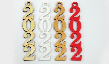 ΞΥΛΙΝΟ 2022 ΟΡΘΙΟ 12cm x 2.5cm 0518036