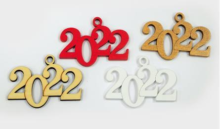 2022 ΞΥΛΙΝΟ 8cmx5.5cm ΚΡΕΜΑΣΤΟ 0518038
