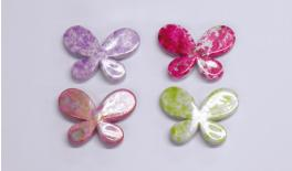 LITTLE BUTTERFLY ACRYLIC POLYCHROM 3x2.2cm 245pcs 0519035