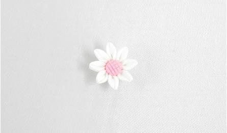 FIMO FLOWERS DAISY 2.5x1cm 50pcs 0519054