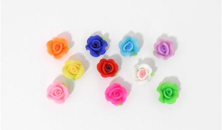 FIMO LITTLE FLOWER 1.2x0.7cm 100pcs 0519062