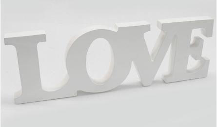 ΞΥΛΙΝΟ LOVE 31x11cm 0519284
