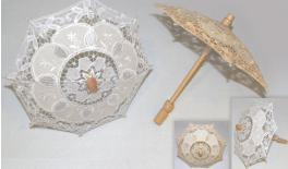 UMBRELLA WITH COTTON LACE 26cm 0519440