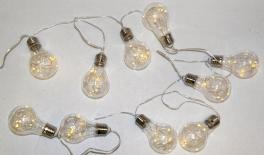 GARLAND WITH 10 LED LAMPS 2.20m 0519443