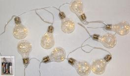 GARLAND WITH 10 LED LAMPS 2.20m 0519444