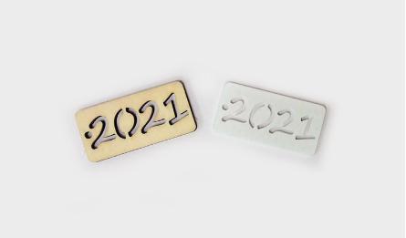 ΞΥΛΙΝΟ ΤΑΜΠΕΛΑΚΙ 2020 4x2cm 0519480
