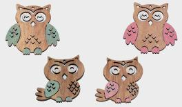 XY16-65105B owl 25pcs/bag 0519495