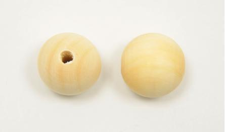 29mm round wood ball 50pcs/bag 0519570