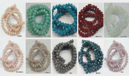 5x6 cut surface wheel beads 97-100pcs/line 0519576