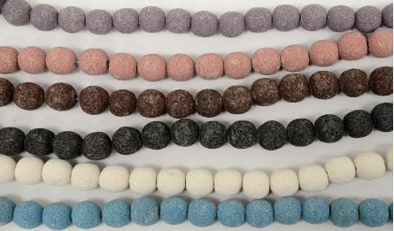 16mm Lava round beads 25pcs/line 0519579